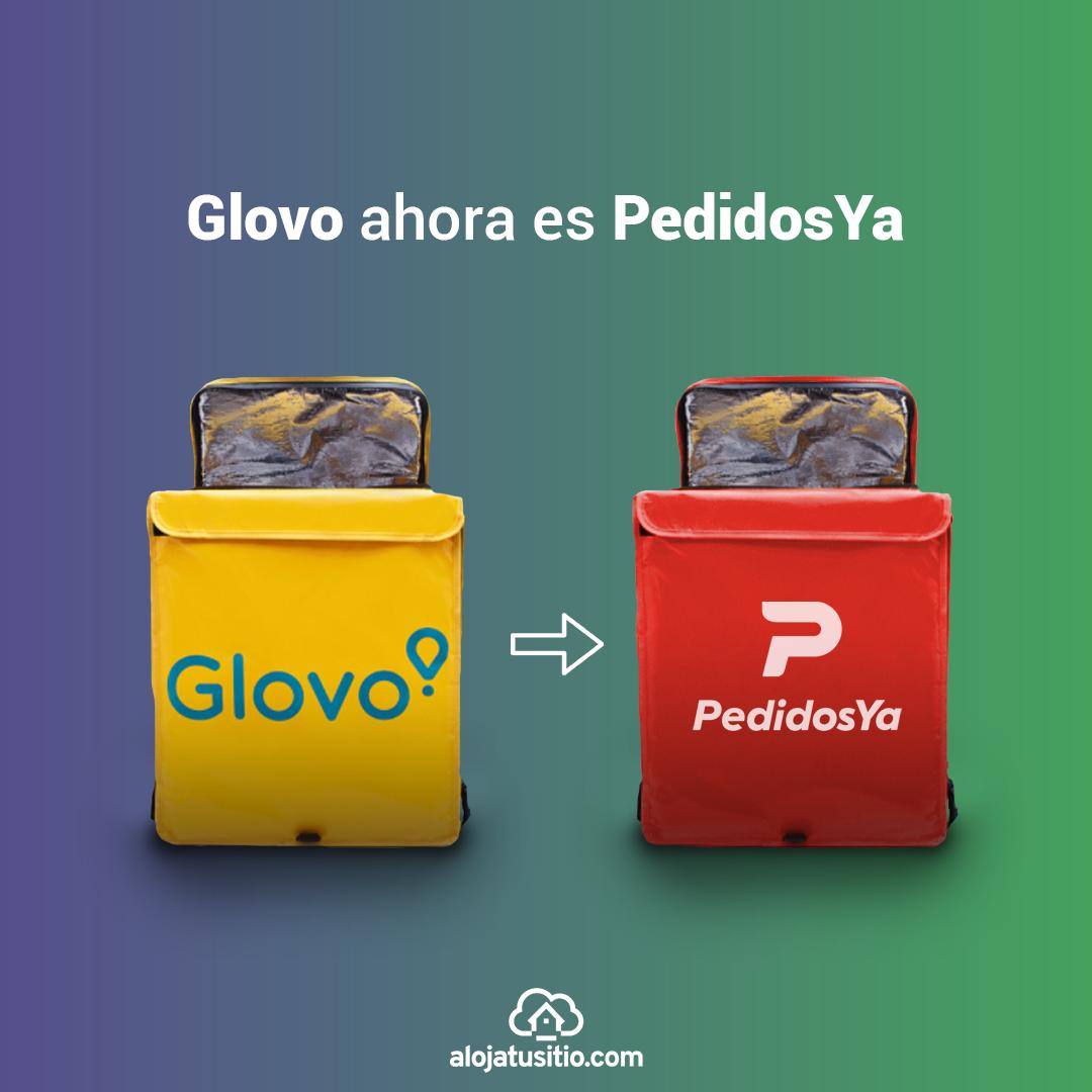 Diseño de cambio de marca de Globo